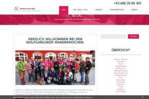 Blog Wolfgangseer Wanderwochen